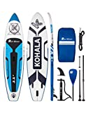 Runwave Inflatable Stand Up Paddle Board 11'×33''×6''(6'' Thick) Non-Slip Deck with Premium SUP