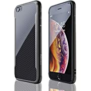 Nicexx iPhone X Case/iPhone Xs Case, Shockproof, 12ft. Drop Tested, Carbon Fiber Case, Lightweight, Scratch Resistant, Compatible with Apple iPhone X/iPhone Xs