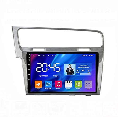 Dmnsdd Coche Estéreo Android 10.0 Radio Para Golf 7 2012-2020 Gps Navigation Gps Unidad De Cabeza 9 Pulgadas Pantalla Táctil Mp5 Multimedia Player Video Recept(Size:ocho núcleos,Color:WIFI:1GB+16GB)