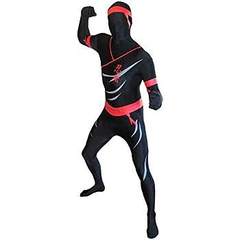 Morphsuits - Disfraz Ninja para Hombre, Talla XL (MPNIX): Amazon ...