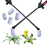 Keyfit Tools AccuTip Weed Killer (4 Pack) Fits On Lawn/Garden Pump Up Sprayer tip No Drift No Overspray Accurately Wipe On Roundup ~Works Great for Quackgrass, Crabgrass, Dandelions & All Other Weeds