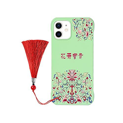 Funda de teléfono con patrón de dragón para iPhone 12 11 Pro Max XR 7 8 Plus 12 Mini X XS 11Pro MAX SE2020 Funda de PC sin montura Coque-05-Para iPhone 12