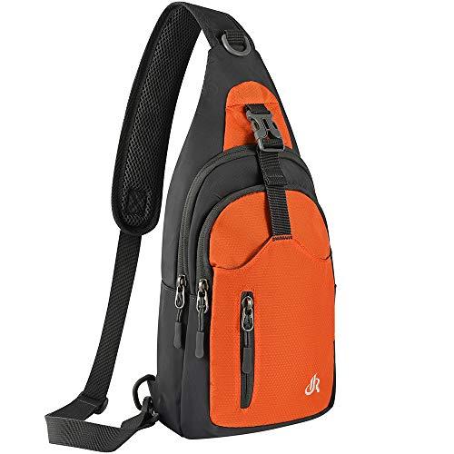 Y&R Direct Sling Backpack Sling Bag Travel Hiking Gifts for Kids Men Women