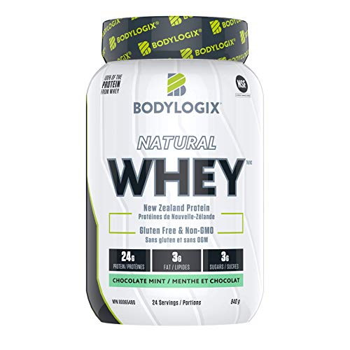 Bodylogix Natural Whey, Chocolate Mint, 840 g