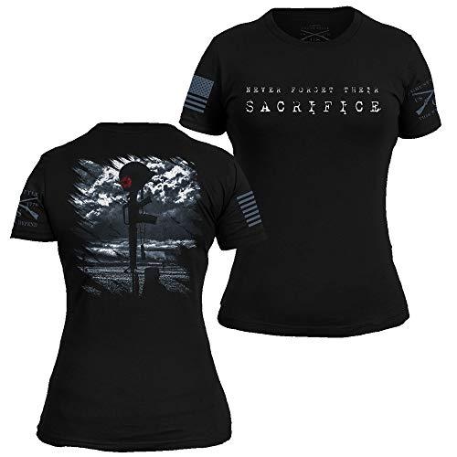Grunt Style Memorial 2017 Women's T-Shirt (Black, Large)