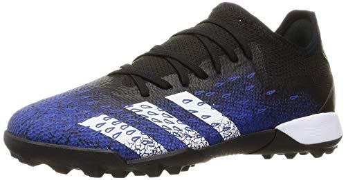 adidas Predator Freak .3 L TF, Scarpe da Calcio Uomo, Core Black/Ftwr White/Team Royal Blue, 44 EU