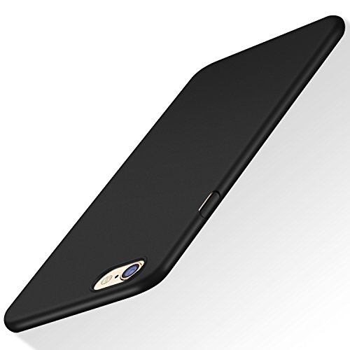 TORRAS iPhone 6S Plus Case, Slim Fit Shell Hard Plastic Full Protective Anti-Scratch Resistant Cover Case for iPhone 6 Plus/iPhone 6S Plus- Space Black