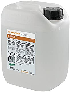 Walter 53F257 E-Weld 3 Weld Spatter Release Solution (20 L) - High Temperature, Water Based Anti Spatter Liquid. Cleaning Solutions