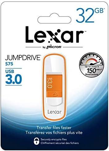 Lexar JumpDrive S75 Outlet sale feature Time sale USB Flash 32GB 3.0 Drive