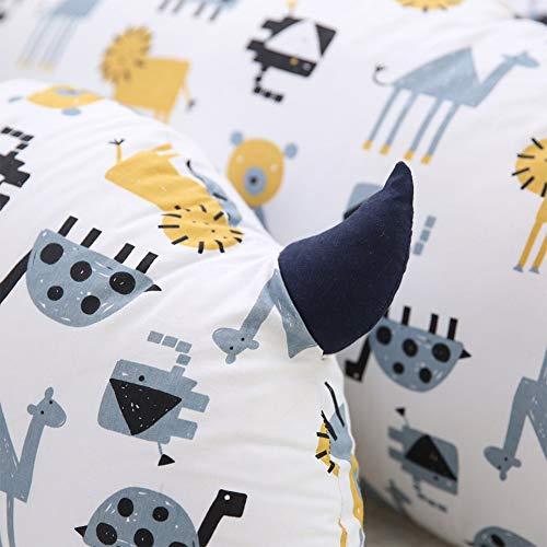 WRHH - Almohada de espuma grande y cojín relajante para TV, perfecta para adultos, adolescentes y niños, para apoyo de cama, brazo, espalda, embarazo, lumbar y cervical