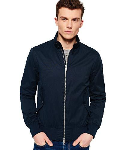Superdry Men's NORDIC HARRINGTON Long Sleeve jacket (Small)