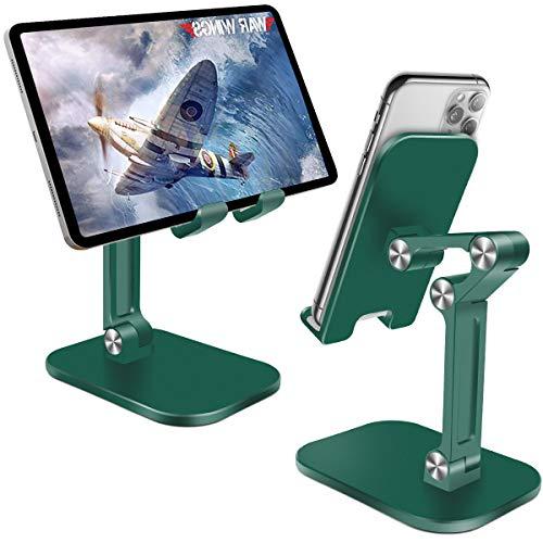 HNOOM Porta Cellulare da Tavolo Regolabile Supporto Tablet/Telefono Universale Supporto Cellulare...