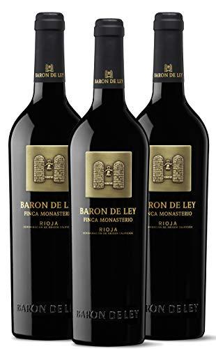 Baron de Ley Finca Monasterio Tinto Rioja - Pack 3 botellas 75 cl