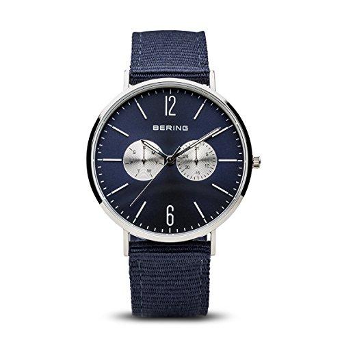 BERING Unisex-Armbanduhr Analog Quarz Nylon 14240-507