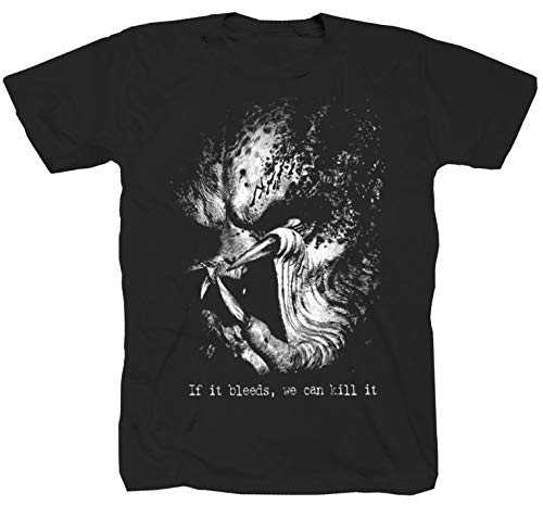 Predator Alien Actionfilm Horror Sci-fi schwarz T-Shirt (L)