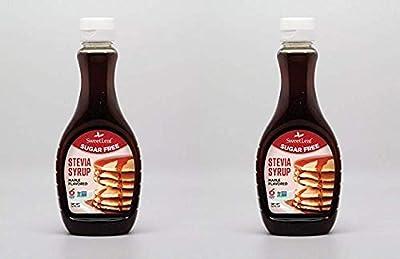 SweetLeaf Stevia Syrup Maple, 12 Fl. Oz Pack of 2 by Wisdom Natural Brands