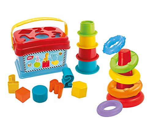 Simba 104010191 ABC Baby Spielset, Ringpyramide