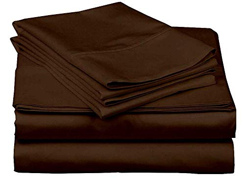 RV Short Queen Sheet Set 400 Thread Count Egyptian Cotton Made for RV, Camper & Motorhomes Cool and Breathable 4 PCs Sheet Set
