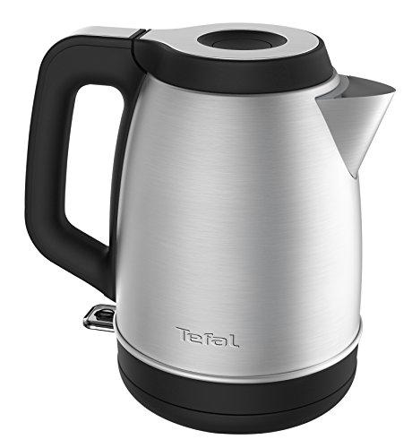 Tefal KI280D Théière Électrique 1,7 L 2400 W Noir Acier Inoxydable Indicateur de Niveau d'eau Sans Fil