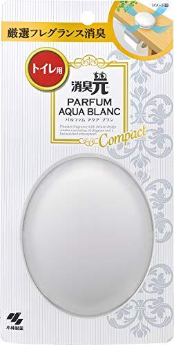 消臭元パルファム コンパクト トイレ用 消臭芳香剤 アクアブランの香り 2.7ml