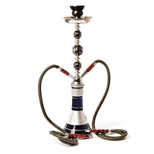 MISS YOU Huka Shisha Full Set Arabische Kultur Shisha Doppel-Rohr-Huka Shisha Set
