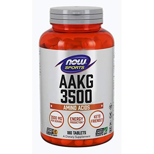 Now Foods AAKG 3500 Standard - 180 Cápsulas