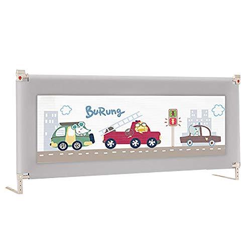 Bed Rail leuning voor bedden, verticale bedden, bedlade, bescherming tegen vallen, versterkt met veiligheidssysteem, voor kinderen en kinderen