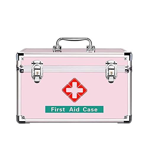 WANGXNCase Botiquín De Primeros Auxilios, Caja De Almacenamiento para Oficina, para El Hogar, La Oficina, Los Negocios, El Automóvil, Los Campamentos Y Los Viajes
