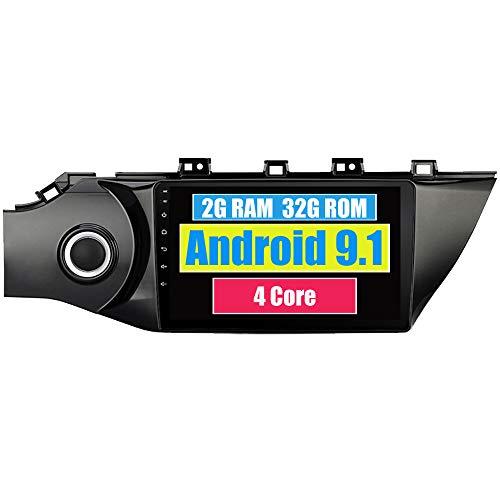 RoverOne Autoradio per Kia K2 Rio 2017 2018 con Android Lettore Multimediale Navigazione GPS Stereo Touch Screen Bluetooth WiFi USB Mirror Link