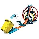 Hot Wheels Track Builder Triple Looping...