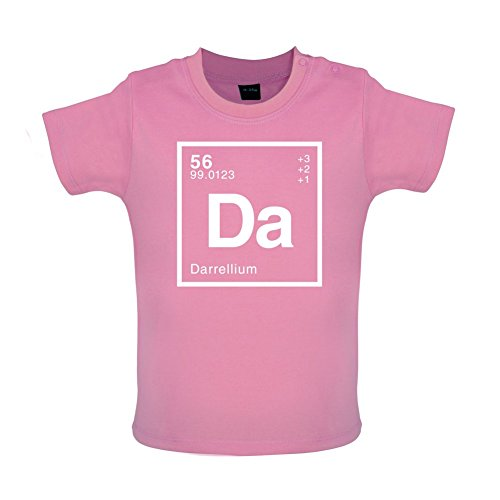 DARRELL - Periodic Element - Baby / Toddler T-Shirt - Bubble Gum Pink - 18-24 Months