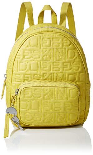 Liebeskind Berlin Damen Urbackm Urban Rucksack, Gelb (Senf Yellow), 13x26x34 cm