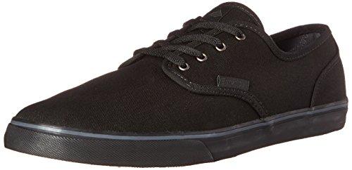 Emerica Men's Wino Cruiser Skateboard Shoe, Black/Black, 10 M US