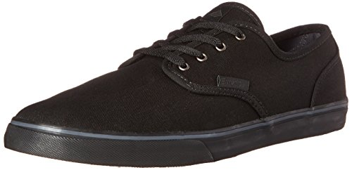 Emerica Men's Wino Cruiser Skateboard Shoe, Black/Black, 10 M US