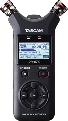 Tascam DR-07X Enregistreur audio portable