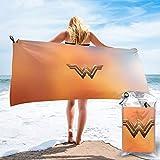 Action Figures Wonder Woman Quick Dry Bath Towel Microfiber Soft...
