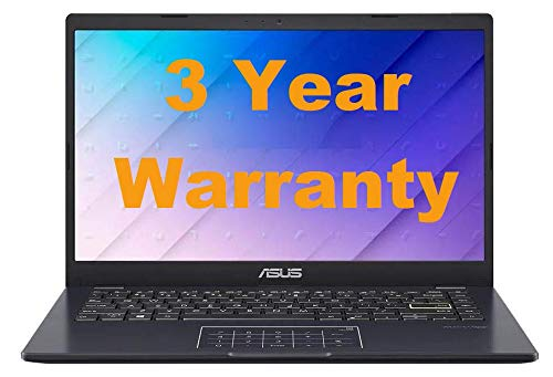 New Asus Quad Turbo Laptop, 4GB RAM, SSD, HD, Windows 10 Pro, Office 2019, Long Battery Life