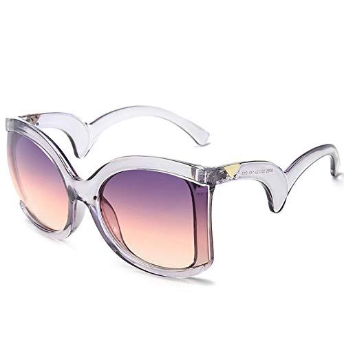 ZZZXX Gafas De Sol De EspejoTemplos Ondulados De Uñas De Arroz Correr, Andar En Bicicleta,Protección Uv400, Varios Colores Disponibles,Con Caja De Regalo Y Paño Para Vasos