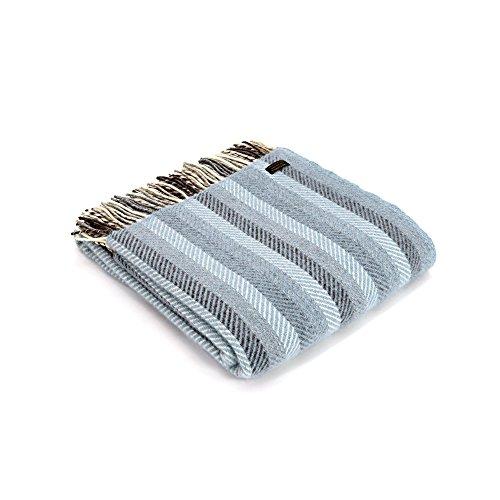 Tweedmill Textiles Regenbogenstreifen werfen blau