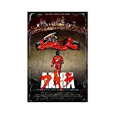 Akira 1988 - Póster de película de Cyberpunk apocalíptico para decoración de pared, para sala de estar, dormitorio, decoración, 60 x 90 cm