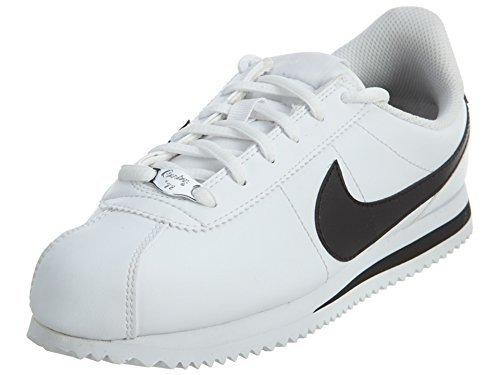 Nike Cortez Basic SL (GS), Scarpe Running, Bianco (White/Black 102), 38.5 EU