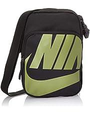حقيبة طويلة تمر بالجسم هيريتيج 2.0 للرجال من نايك، رمادي غامق - NKBA6344-70