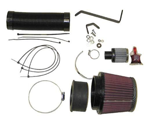 K&N 57-0593 Waschbarer und wiederverwendbarer KFZ Hochleistungsluftfiltersystem