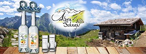 Alpenschnaps | Steinbeisser | 1 x 1l | Himbeere | pures Alpenglück im Glas - 4