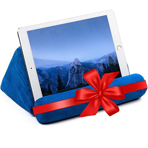iPad Tablet Stand Pillow Holder - Universal Phone and Tablet Stands and Holders Can Be Used on Bed,...