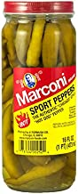 Marconi, Hot Sport Peppers, 16 oz