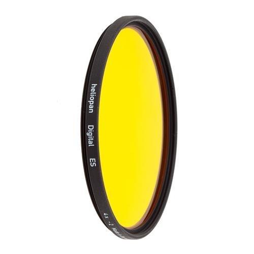 Heliopan 703704 Dunkelgelb-Filter, 37 mm, Gelb, Dunkelgelb (15), gelb, 72mm