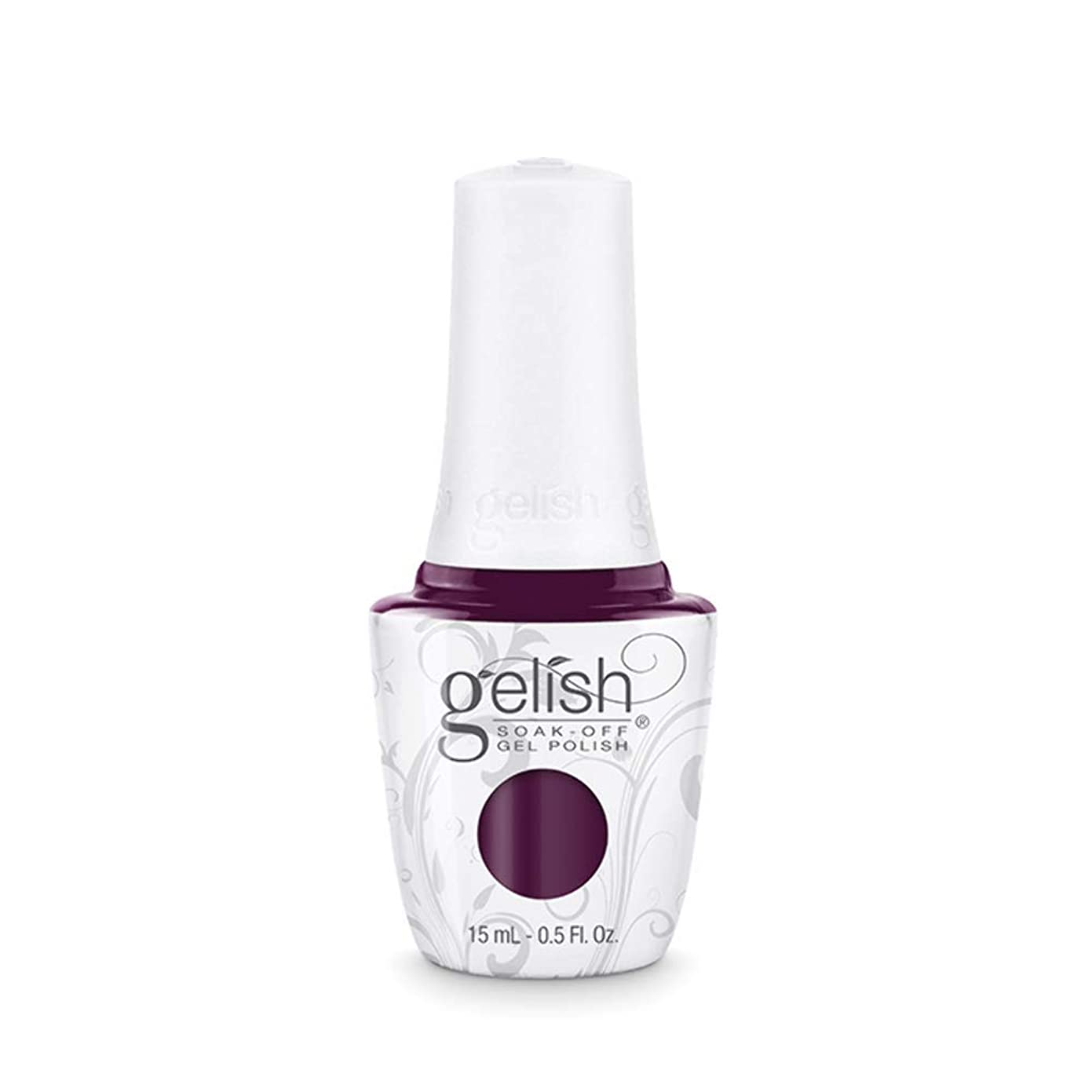 意志に反するプット工夫するHarmony Gelish Gel Polish - Plum And Done - 0.5oz / 15ml