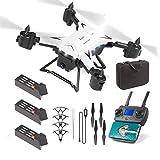 HehiFRlark KY601g 5G WiFi Drone Télécommande FPV GPS Drone RC Drone Avion Pliable