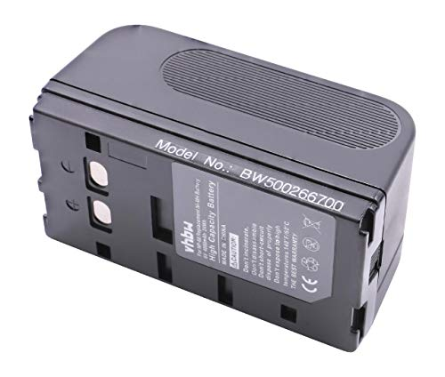 vhbw Batería Recargable Compatible con Yashica KX-1, KX-1E, KX-70, KX-70E, KX-77, KX-77E, KX-80, KX-90 cámara Digital, DSLR (4000 mAh, 6 V, NiMH)